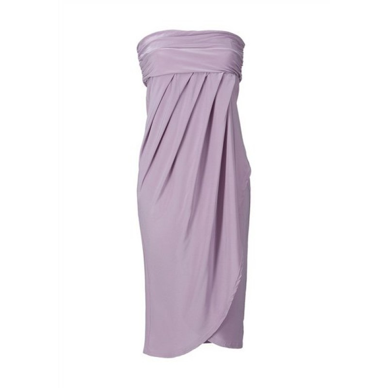 Dámske fialové šaty APART